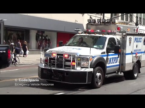 NYPD Emergency Service Unit - Rumbler Siren