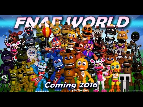 FNAF World characters theme songs