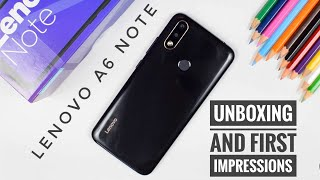Lenovo A6 Note Black Panther Edition Unboxing | Helio P22 | 32MP Camera | 4000 mAh Battery