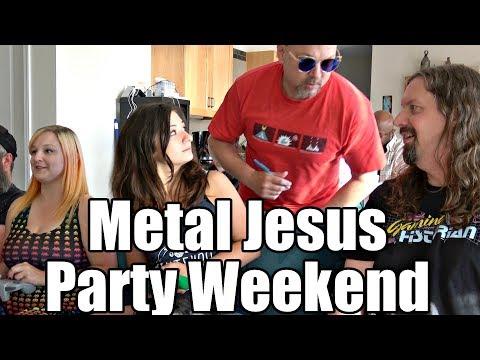 METAL JESUS PARTY WEEKEND at Oregon Beach House