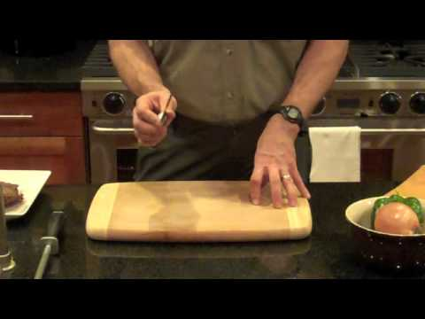 Basic Knife Skills With Charles Mayfield, Author Of Paleo Comfort Foods