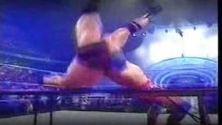 The Rock vs kurt angle no way out 2001 promo