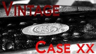 Vintage Case Xx Dog Leg Jack / Mini Trapper 6207 Pocket Knife