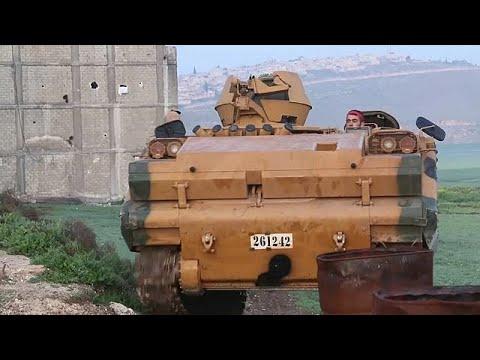 Syrische Stadt Afrin unter türkischer Kontrolle