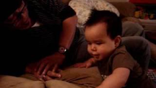 Caleb Alexander tickle me crazy Uncle D!!!