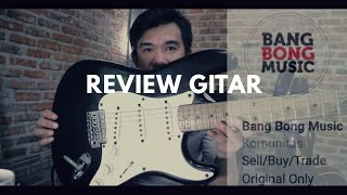 Review gitar squier stratocaster affinity ( BANGBONG MUSIC )