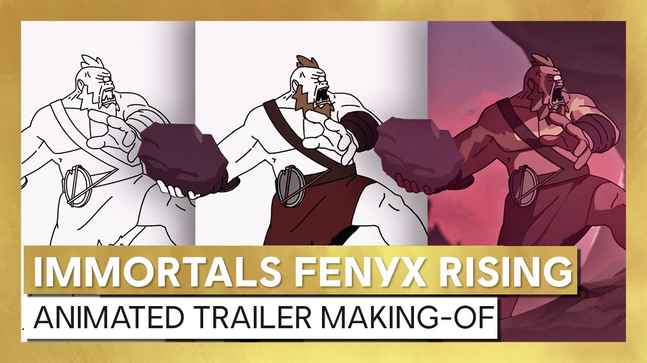 Immortals Fenyx Rising - Animated Trailer Making-Of