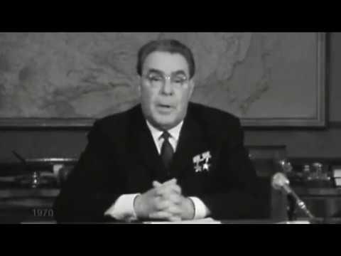 Брежнев поздравляет с Новым годом. смотреть онлайн видео