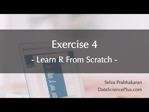 R Tutorial 33: Practice exercise 4 (dates)