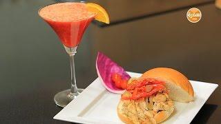 عصير برتقال بالجزر الأحمر | شريف الحطيبي