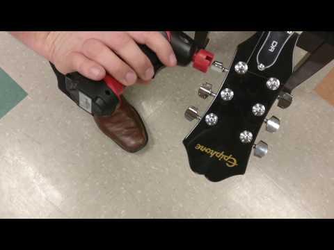 Ernie Ball Motorized String Winder & Snapz Bridge Pin Puller
