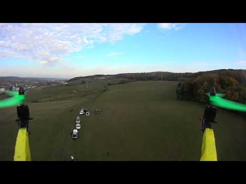 Badminton from Quadcopter perspective