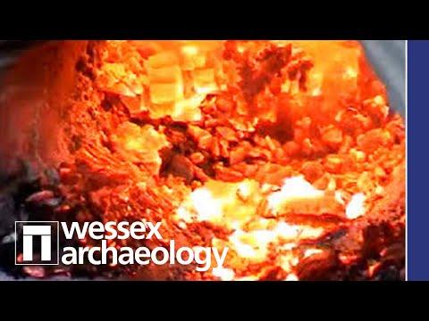 Prehistoric Iron Smelting Demonstration