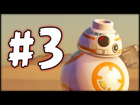 LEGO Star Wars The Force Awakens - Part 3 - BB-8 Joins the Team (HD)