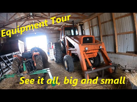 First Generation Farm Equipment Tour