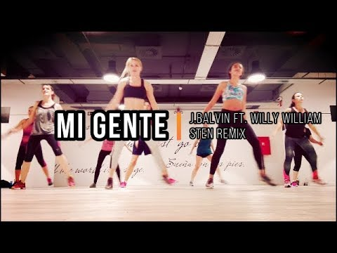 * MI GENTE * J Balvin | STEN REMIX * WARM UP ZUMBA