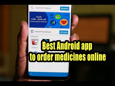 Best Android app to order medicines online
