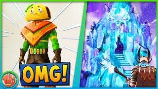 GIANT ICEBERG & TACO SKIN?! -Fortnite: Battle Royale