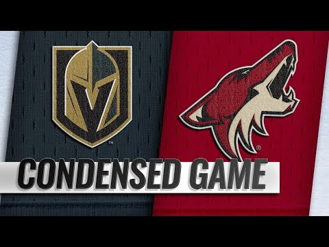 12/30/18 Condensed Game: Golden Knights @ Coyotes