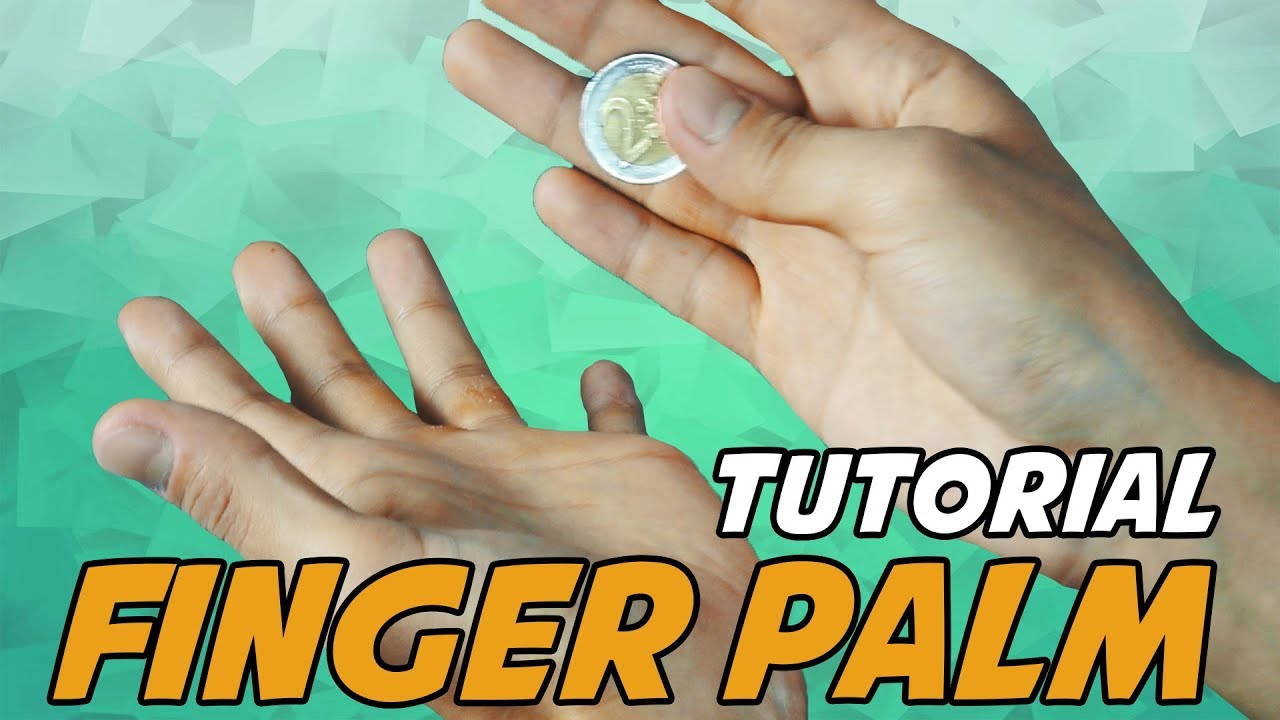 Münze Verschwinden Lassen Tutorial Erklärung Finger Palm