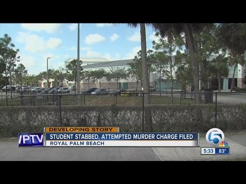 Student stabbed at Royal Palm Beach High School