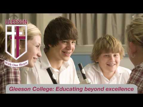 Gleeson College commercial