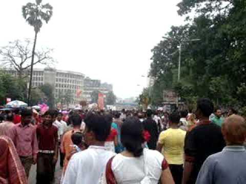 Pohela Boishakh in Dhaka - Charukola theke Shahbug - 14 April 2011