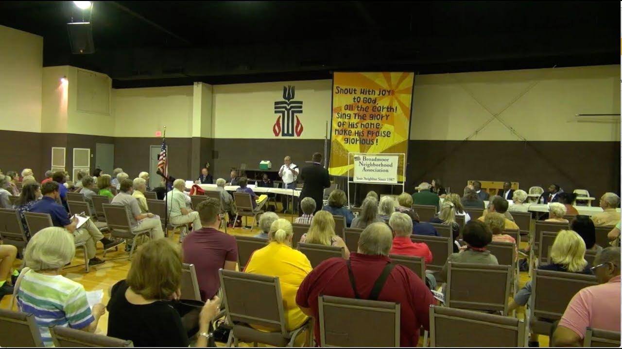 BNA Mayoral Forum Sept 2018 - Broadmoor Neighborhood Association Mayoral  Forum