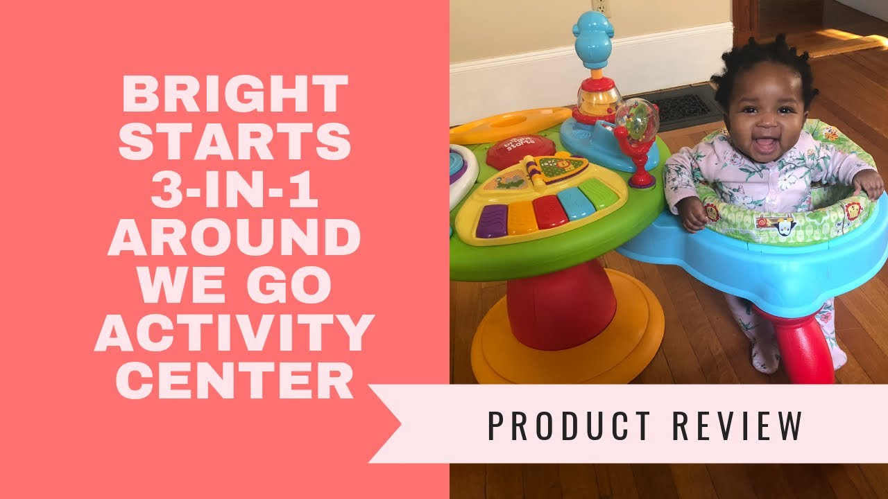 7de71a9dd Bright Starts 3-in-1 Around We Go Activity Center Asembly   Product ...