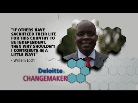 Deloitte Changemakers | See impact | William