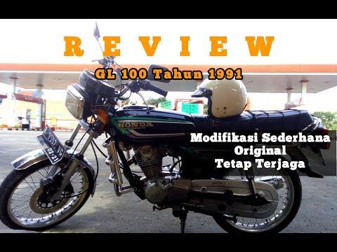Review Gl 100 Modifikasi Sederhana Motor Klasik Youtube