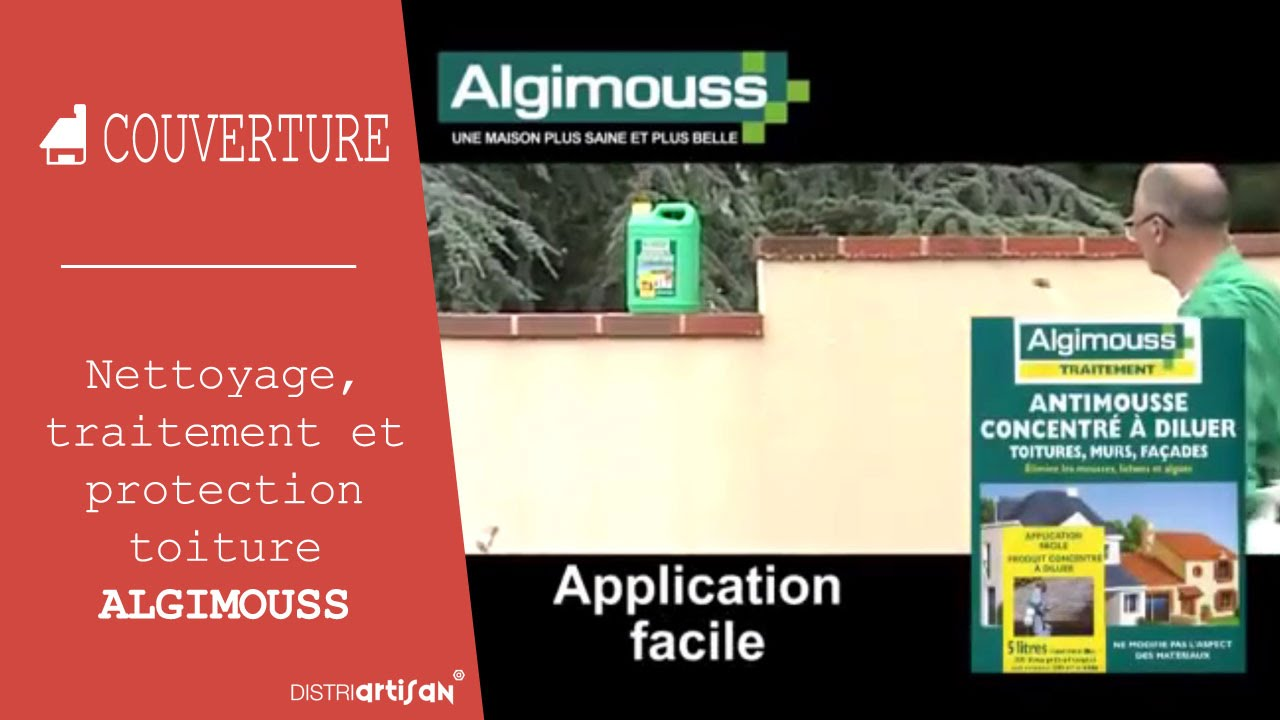 Algimouss Nettoyage Traitement Et Protection De La Toiture Façade