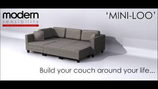 Modular Sofa Set | The Mini-loo | Modern Sensibility