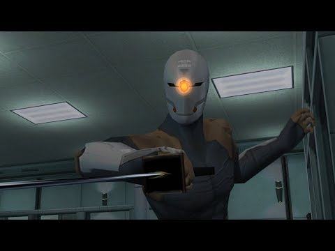 Metal Gear Solid Twin Snakes: Cyborg Ninja (Grey Fox) Boss Fight