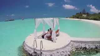 Tropical-island-with-bungalows Bali Taj Exotica