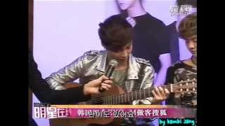[KOR SUB-한글자막2] 120411 EXO-M Sohu Interview Part 2/4