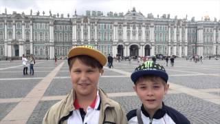 видео Обзорная экскурсия по Петербургу с посещением Кунтскамеры. Турсервис Спб