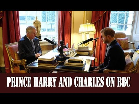 'You've made me very proud' Charles jokes with Prince Harry on BBC