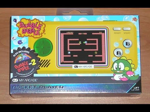 Bubble Bobble Player! My Arcade Pocket Player! (feat. Galaga Player)