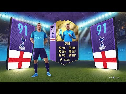 91 RATED POTM HARRY KANE! - FIFA 18 Ultimate Team
