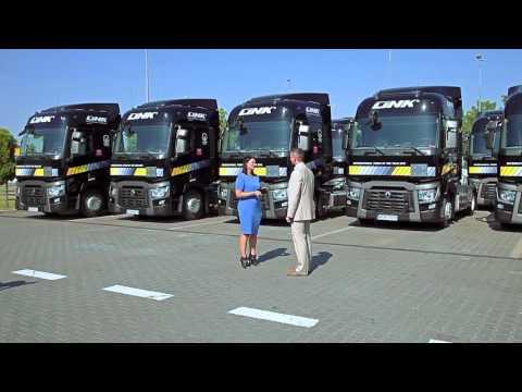 LINK International Transport -przekazanie flota Renault