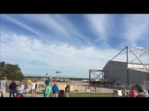 Blue Angels Sneak Pass Pensacola NAS 2018