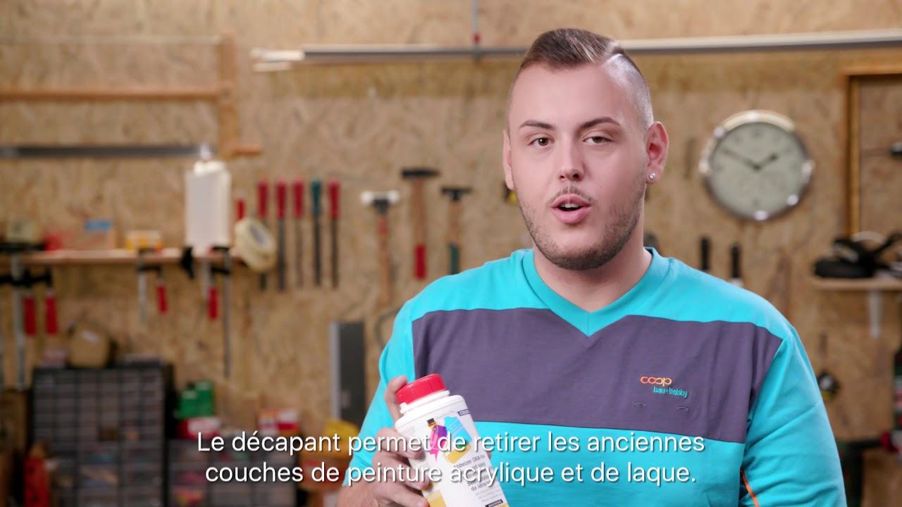 Coop Bricoloisir Tutorial Comment Enlever De La Peinture Youtube