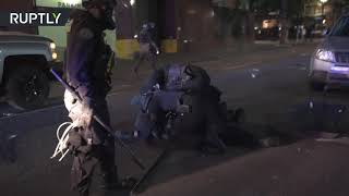 Portland in chaos | Violent clashes between protesters and police rock Oregon's largest city