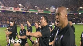 Evolution of the All Blacks Haka - 1987 to 2015