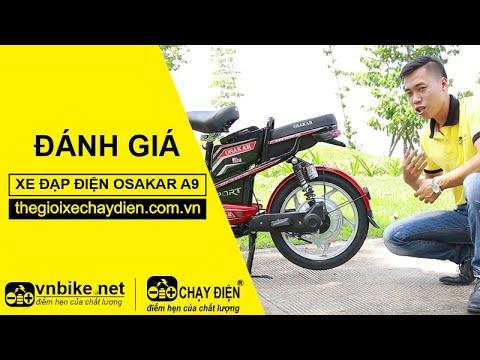 Đánh giá xe đạp điện Osakar A9