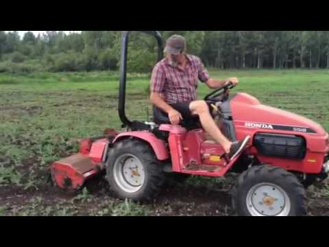 honda tractor for sale youtube
