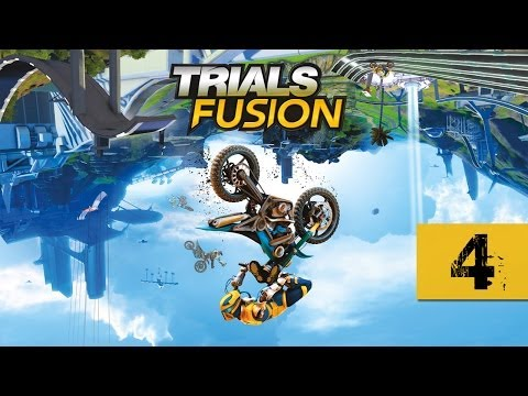 Trials Fusion - Walkthrough - Part 4 - Fly Like An Eagle