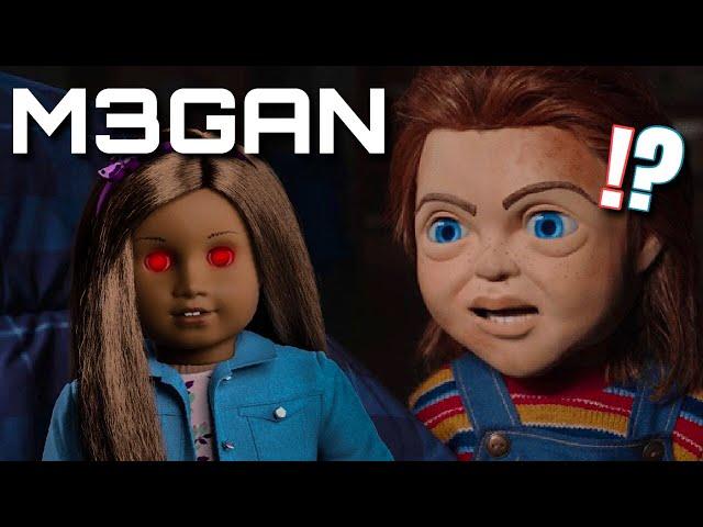 M3GAN Blumhouse's Version of Child's Play (Doll Horror Movie)