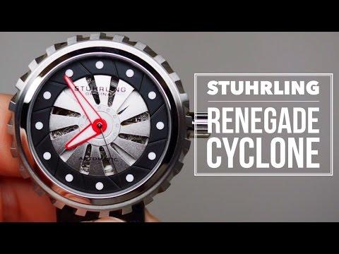 Stuhrling Original Renegade Cyclone Men's Watch Review Model: 726-01